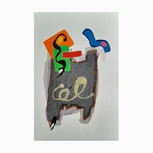 French Abstract Contemporary Art by Daniel Cayo, Untitled No.3, 2021