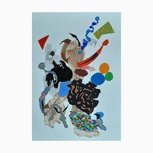 Französische Abstrakte Kunst von Daniel Cayo, Untitled No.13, 2021
