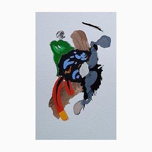 Französische Abstrakte Kunst von Daniel Cayo, Untitled No.26, 2020