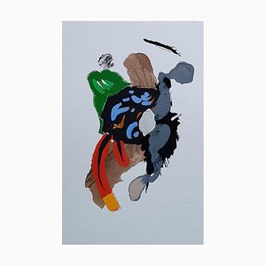 French Abstract Contemporary Art by Daniel Cayo, Untitled No.26, 2020