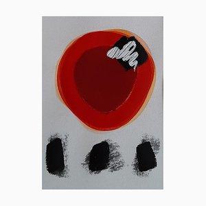 Arte astratta contemporanea francese di Daniel Cayo, Untitled No.24, 2020
