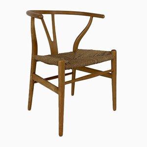 Chaise Wishbone Vintage par Hans J. Wegner