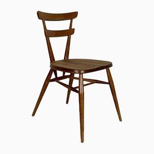 Ercol Green Dot Stacking Chair