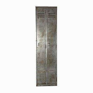 Vintage Stripped and Polished Steel Locker