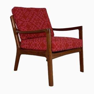 Teak Lounge Chair by Ole Wanscher for France & Son, Denmark, 1960s