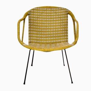 Vintage Woven Plastic Chair, 1960s