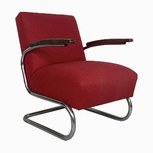 Vintage S411 Cantilever Armchair from Thonet