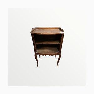 Vintage Nachttisch mit Herzgravur