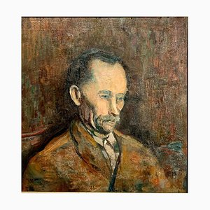 Portrait of Man, Painting, Oil on Wood