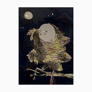 Owl Screenprint
