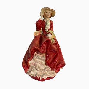 Englische Vintage Keramik Top of the Hill Figur