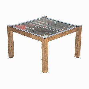 Tavolo da backgammon Mid-Century