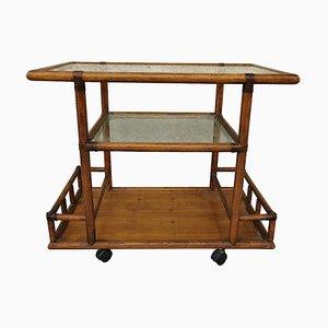 Bamboo Bar Cart, 1960s