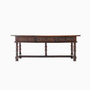 Large 17th-Century Spanish Walnut Table