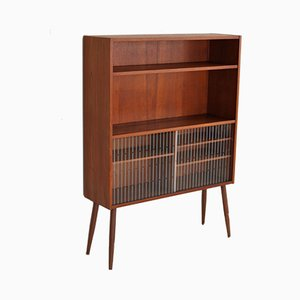 Vintage Bookcase with Display