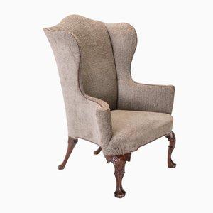 Walnut Wing Chair, 1930s
