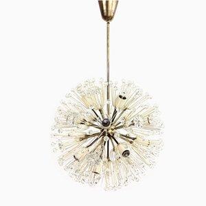Dandelion Sputnik Chandelier by Emil Stejnar & Rupert Nikoll