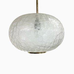 Glass Tulip Doria Pendant Lamp, 1960s