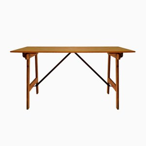 Foldable Dining or Working Table, 1950s