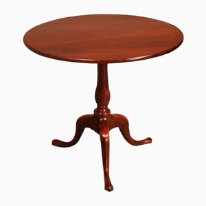 19th-Century English Tripod Table in Mahogany