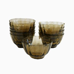 Early 20th Century Bowls from Daum Nancy, Set of 10