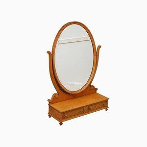 Specchio da toeletta grande in stile Sheraton