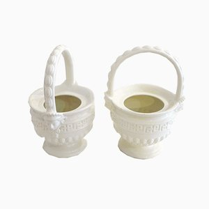Neo-Classical Earthenware Planters by Este for Richard Ginori, Set of 2