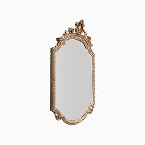 Antique Italian Gesso Wall Mirror, 1900s