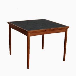 Schwarzer Vintage Tisch