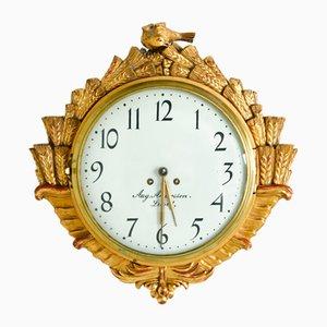 Reloj gustaviano, década de 1900