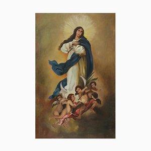 Immacolata Concezione, Scuola europea, XVIII secolo, olio su tela