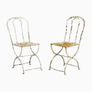 Gartenstühle, 2er Set