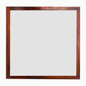 Specchio vittoriano in palissandro