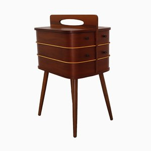 Wooden Sewing Cabinet, 1960s