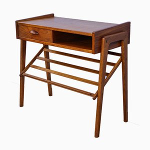 Danish Teak Side Table, 1960s