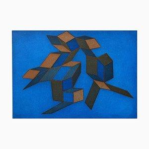 Achille Perilli, Radierung und Aquatinta, 1991