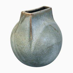Large Stoneware Vase by Franco Bucci for Laboratorio Pesaro, Italy, 1970s