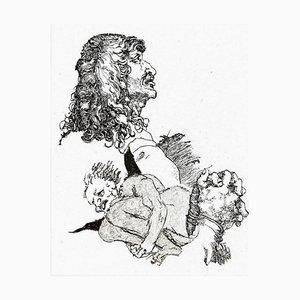 Filippo Mattarozzi, Doubt, Bleistift und Tusche
