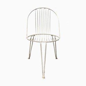 Mid-Century German Metal Garden Chairs from Mauser Werke Waldeck, Set of 2