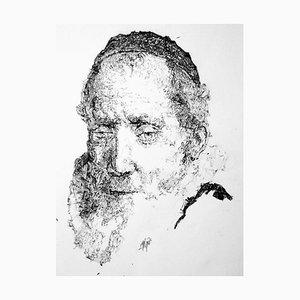 Filippo Mattarozzi, Cornelius Sylvius, Rembrandt, Pencil and Ink