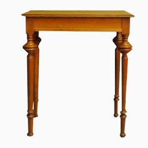 Table Console Art Déco en Chêne