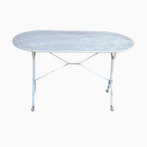Mesa de jardín de mármol