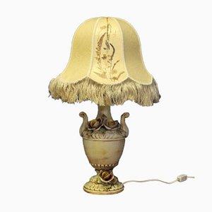 Italienische Porzellan Tischlampe