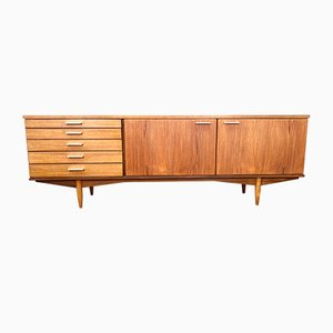 Mid-Century Teak Credenza from White and Newton