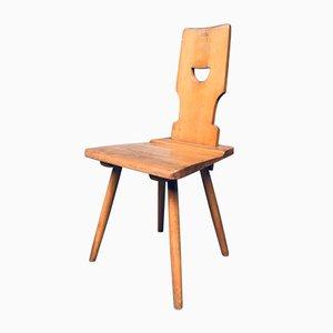 Vintage Belgian Brutalist Pub Café Chair Set by Torck, 1960s, Set of 4