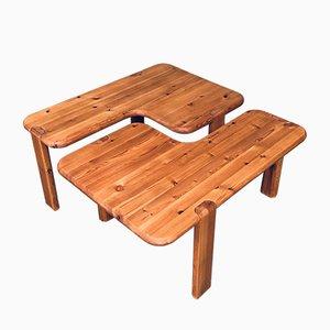 Danish Coffee Table Set by Aksel Kjersgaard of Odder Furniture, 1970s, Set of 2