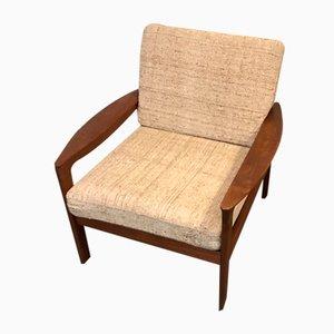 Teak Lounge Chair by Arne Wahl Iversen Comfort, 1960s
