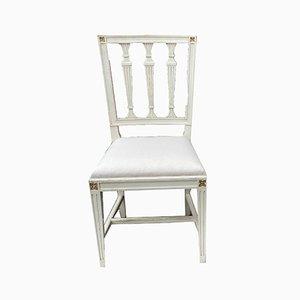 Gustavianische Lotus Stühle, 5er Set