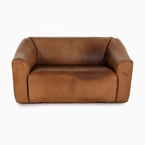 2-Seater Model Ds 47 Brown Leather Sofa from de Sede