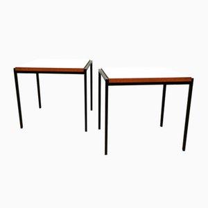 Mesas nido minimalistas vintage de Cees Braakman para Pastoe. Juego de 2
